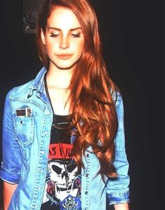 Lana Del Rey -She's gorgeous, has fantastic music and is wearing a GNR tee…