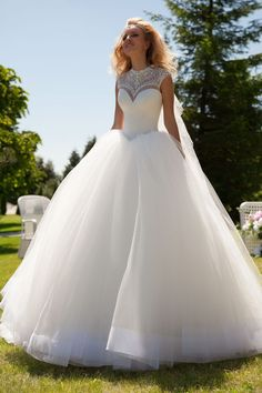 31 princess-style wedding dresses that will make you dream – Wedding Gown Princess Style Wedding Dresses, White Wedding Dresses, Princess Wedding, Elegant Dresses, Bridal Dresses, Wedding Gowns, Ceremony Dresses, Wedding White, Tulle Wedding
