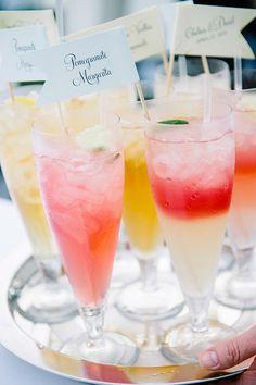 beach wedding signature cocktails | dear wesleyann | Glamour & Grace