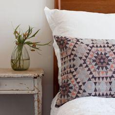 House of Rym Cushion Cover - Heavenly Honeycomb/Grey
