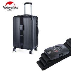 Naturehikeナイロントラベルスーツケースストラップ荷物ストラップベルト手荷物リュックバッグスーツケースパッキングベルト195*5センチメートル