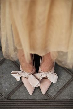 bows on the feet