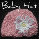 I've been inspired to get out the crochet hooks and make some baby hats for some friend's children. (I enjoy both knitting and crocheting because there's very little mess or space required.) Here is one that I made for Connie's baby girl who is due in a few months. (Did you know that Connie and I got to meet back in February?)Baby Hat Pattern:To start: ch 3 and join with sl st to form a loopRound 1: dc 10 in ring. Join with sl st to top of first dc made. (10 dc)Round 2: ch 2 (cou