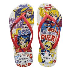 b2952859bcc29 Havaianas Kids Dc Super Hero Girls Sandal Coral White Price From  16