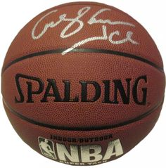 """George """"Iceman"""" Gervin Autographed Spalding NBA Indoor / Outdoor Basketball, Proof. George """"Iceman"""" GervinAutographed NBA I/OBasketball, San Antonio Spurs, Chicago Bulls, Proof  This is a brand-new George """"Iceman"""" Gervinautographed NBA Spalding indoor/outdoor basketball.Georgesigned the basketballin silver paint pen.Check out the photo of Georgesigning for us. ** Proof photo is included for free with purchase. Please click on images to enlarge. Please browse our websitefor…"""