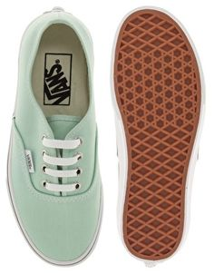 Vans Authentic Classic Mint Green Lace Up Trainers - £45 (ASOS)