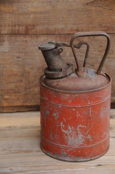 Vintage/Antique Gas Can Protectoseal Co Of by PageScrappers, $16.99