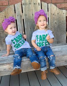 Farm Fresh Originals- Kids Distressed Skinny Jeans Distressed Skinny Jeans 462bab7ea