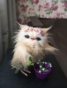 Owl,  сова Весна