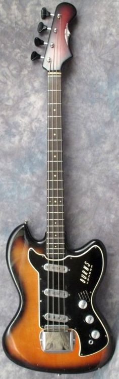 1964 Burns Vistasonic Bass. --- https://www.pinterest.com/lardyfatboy/