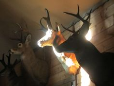 My hunting lodge. Dawn over the door....
