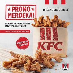 Rayakan Hari Kemerdekaan Indonesia yang ke-74 dengan menikmati CHICKEN SKIN di semua gerai KFC  Rayakan Hari Kemerdekaan Indonesia yang ke-74 dengan menikmati CHICKEN SKIN di semua gerai KFC wilayah Jabodetabek! Jangan sampe kamu ketinggalan kesempatan untuk nikmatin kelezatan dari KFC Chicken Skin. Hanya ada di periode Promo Merdeka aja loh! Beli di gerai KFC terdekat! Persediaan terbatas!  Syarat & Ketentuan:  Tersedia selama periode promo 12-16 Agustus 2019.  Hanya tersedia di gerai KFC…