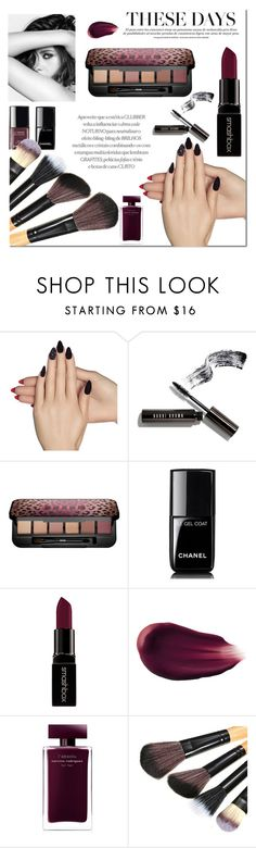 """""""..."""" by rasaj ❤ liked on Polyvore featuring beauty, Static Nails, Chanel, Bobbi Brown Cosmetics, Buxom, Smashbox, Hourglass Cosmetics and Narciso Rodriguez"""