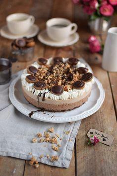 Toffifee Karamell Eis Torte - Ice Cream Cake with caramel and chocolate (8)