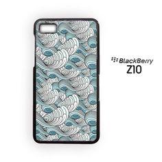 Cute art sea for Blackberry Z10/Blackberry Q10 Phonecases