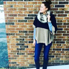 Congrats @coner11, you're our $1,000 grand prize #ComfortZoneChallenge winner! That Stitch Fix poncho? Flawless. Thanks to all who participated, we loved seeing how you jumped out of your comfort zone for #StyleGoals2016.