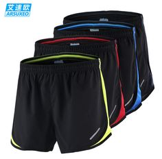 ARSUXEO Summer Sport Marathon Running pants Male Quick Dry Breathable Large Size