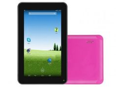 "Tablet DL Flex-S 4GB Tela 7"" Wi-Fi 4GB - Android 4.4"" Proc. Dual Core Câmera Frontal"