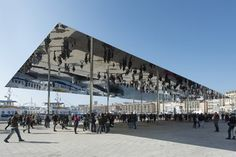 Marseille Vieux Port - Marseille's old port, França - 2013 - Foster + Partners