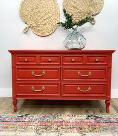 Love this red dresser that did! Furniture Makeover, Furniture Ideas, Red Painted Furniture, Red Dresser, Milk Paint, Outdoor Projects, Wood Crafts, Indoor, Contemporary
