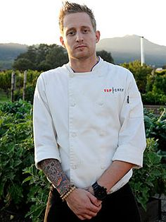 michael voltaggio...gorgeous AND can cook.........  yummy!!