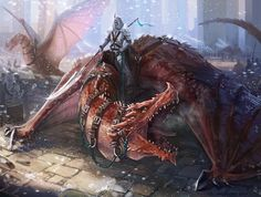 Dragon rider by Angevere on DeviantArt