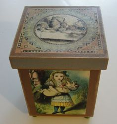 Alice in Wonderland Decorative Box