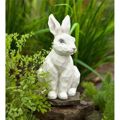 Find the best deal on Rabbit Garden Statues in USA. Compare prices of 15 Rabbit Garden Statues products from 4 online stores. Porch Garden, Lawn And Garden, Garden Art, Garden Ideas, Garden Design, Rabbit Sculpture, Rabbit Garden, Buddha Garden, Animal Statues