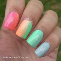 Another shot of my Never-Say-Bye-To-Summer nails! http://instagram.com/p/tcBvlShej1/?modal=true