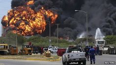 Fire at Venezuela Amuay refinery spreads