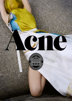 sassyandhip: Acne Fall/Winter 2013 Campaign photographed by Viviane Sassen