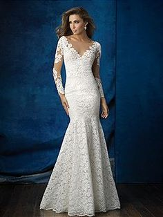 Bridal Gowns Allure  9377 Bridal Gown Image 1