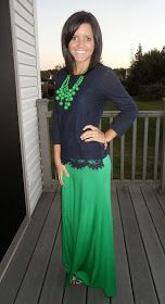 Classy In The Classroom: I LOVE this Maxi Skirt!