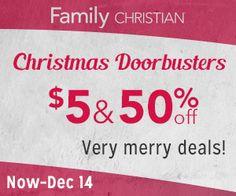 $5 & 50% off Christmas Doorbusters