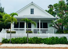 Key West Cottage living in the Heart of Old Town Key West. The front porch is an important part of the entire experience. Key West Cottage, Key West Vacations, Victorian Cottage, Cottage Style Homes, Cottage Living, Old Town, Front Porch, Porches, Gingerbread