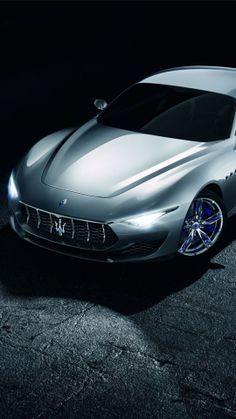 """Just build it,"" we said, after seeing the deliciously plausible Maserati Alfieri concept at the Geneva motor show. Maserati chose not to respond to our request/demand immediately, instead . Maserati Sports Car, Maserati Car, 2015 Maserati, Audi R8, Maserati Alfieri, Maserati Granturismo, New Sports Cars, Sport Cars, Fast And Furious"
