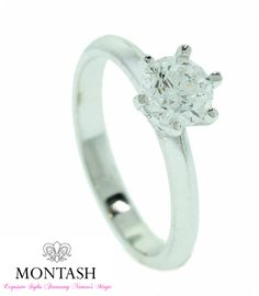 Engagement rings are placed on the fourth finger on the left hand, as it is believed that it contains a vein (vena amoris) that led directly to the heart #montashjewellerydesign