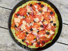 Pizza z cukety Paella, Pesto, Food And Drink, Low Carb, Pizza, Cooking, Ethnic Recipes, Kitchen, Kochen