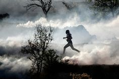 Running through a cloud of tear gas during clashes in the Gaza Strip   An image to stick with you  Daily Life: November 2012 - The Big Picture - Boston.com