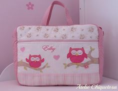 Baby Bags, Baby Diaper Bags, Handmade Fabric Bags, Baby Embroidery, Baby Furniture, Bedding Collections, Diy And Crafts, Patches, Quilting