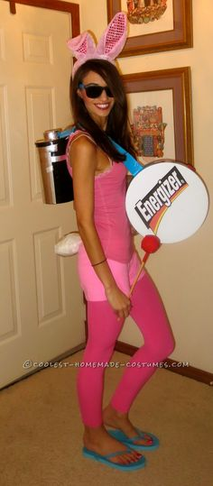 Easy Energizer Bunny Costume!... Coolest Halloween Costume Contest