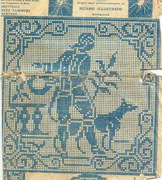 ricamo e... altro: antichi schemi/2 da una  rivista del 1929