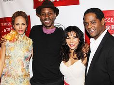 Nicole Ari Parker, Wood Harris, Daphne Rubin-Vega and Blair Underwood of A STREETCAR NAMED DESIRE