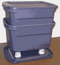 How To Build A Worm Bin the Cheap and Easy Way