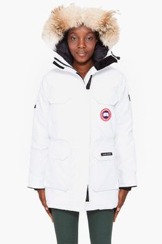 canada goose expedition parka womens white