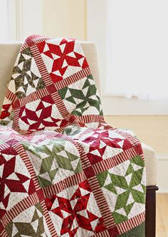 More stripes for a Christmas quilt Christmas Remembered BHG Patchwork quilts mag