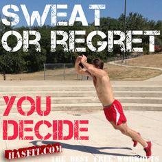 coach kozak workout quote
