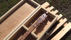 Cigar Box Guitar Case For Cigar Box Guitar by CIGARBOXGUITARSBYWES
