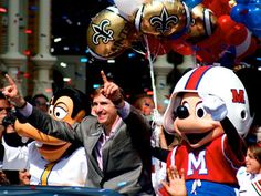 2 of my favorite men. SB MVP 44 drew brees and mickey