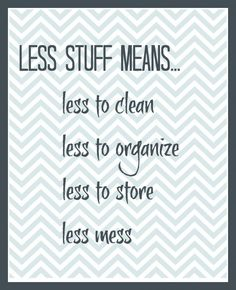 Less is Actually Less - AMEN!